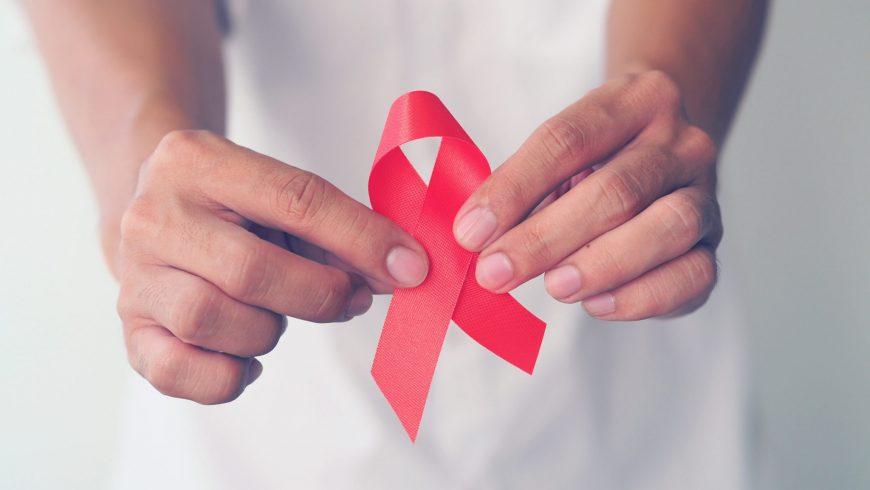 Акция, посвященная дню памяти умерших от СПИД