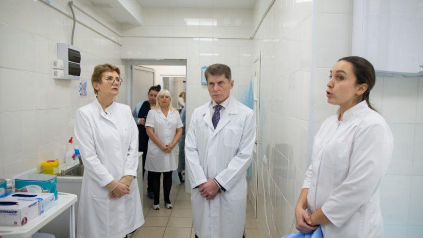 Ремонт кабинета под современный рентген-аппарат начали в клинической больнице №2 Приморья